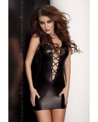 Платье под латекс (комплект) LIZZY DRESS black Passion Exclusive